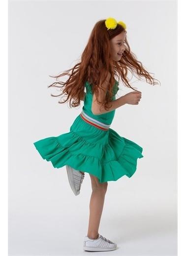 Colorinas Colorinas Hawaii  Kız Çocuk Elbise Yeşil